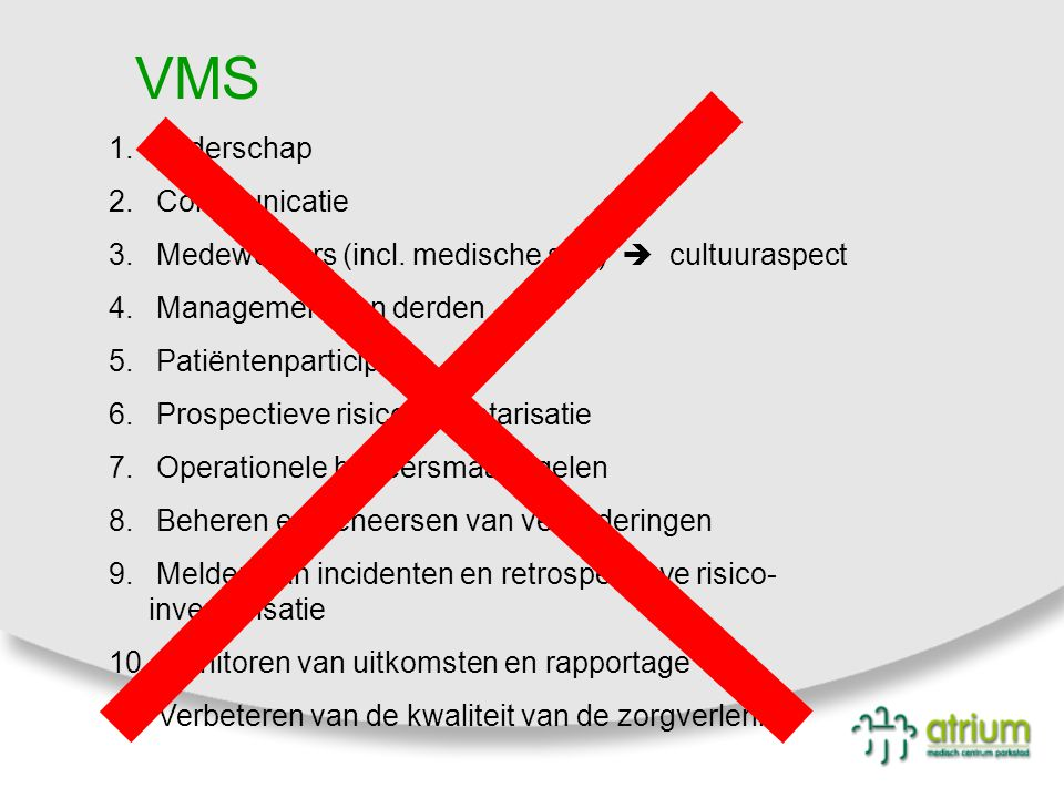 VMS Leiderschap Communicatie