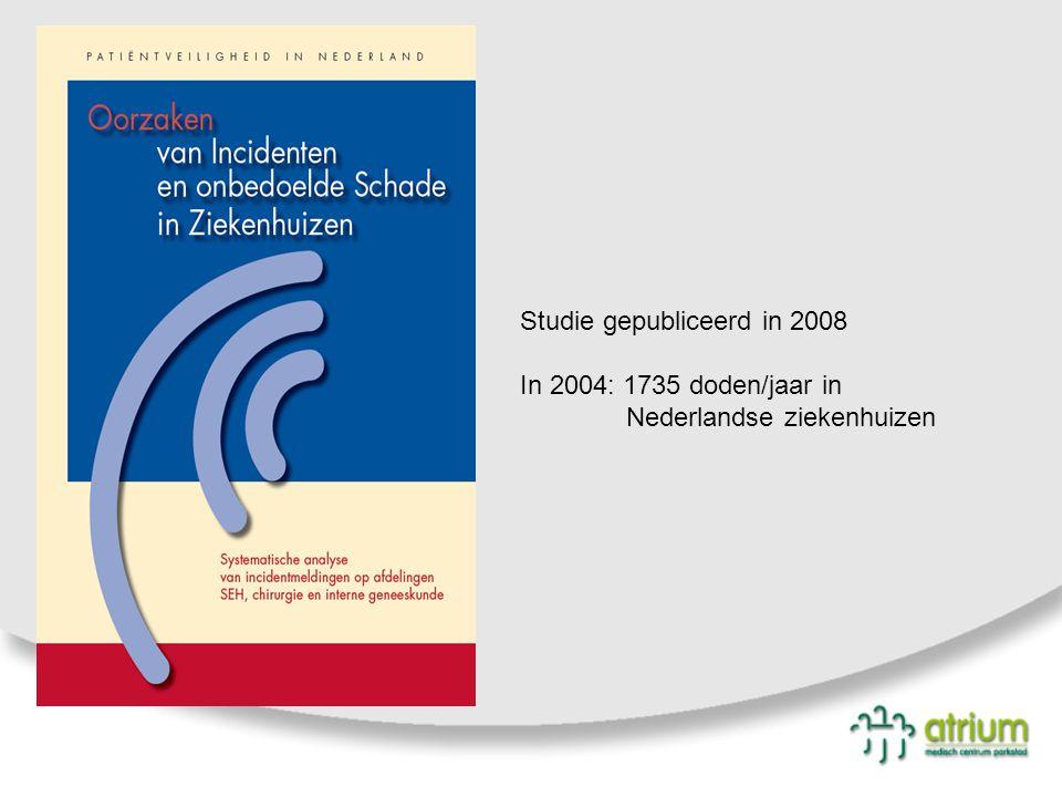 Studie gepubliceerd in 2008