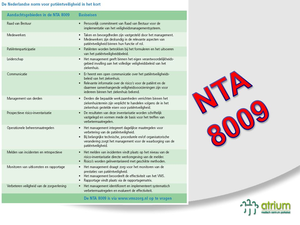 NTA 8009