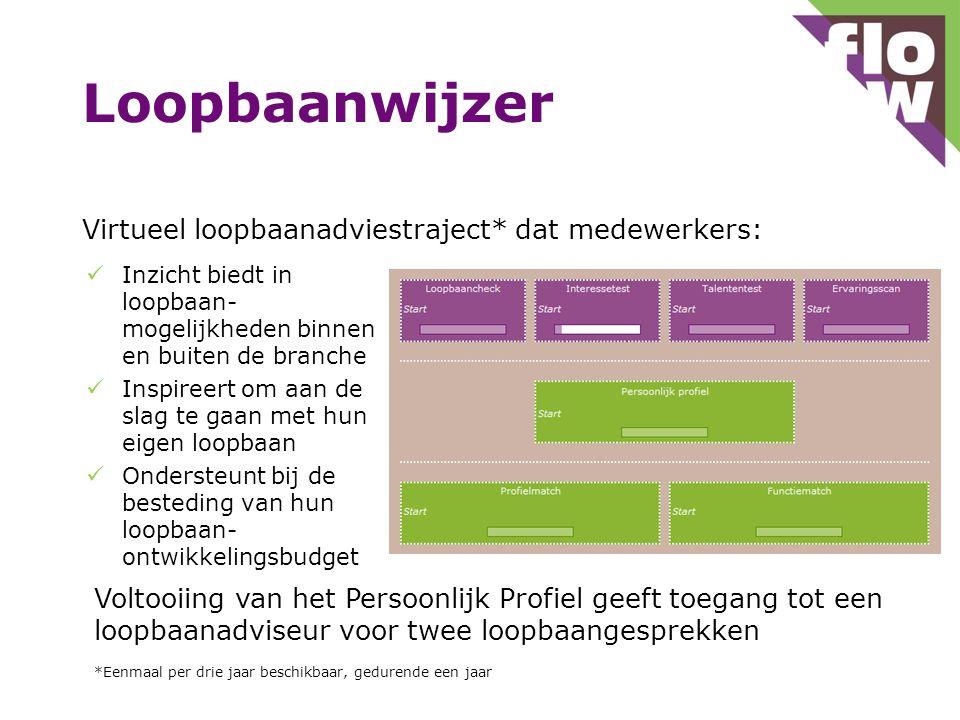 Loopbaanwijzer Virtueel loopbaanadviestraject* dat medewerkers:
