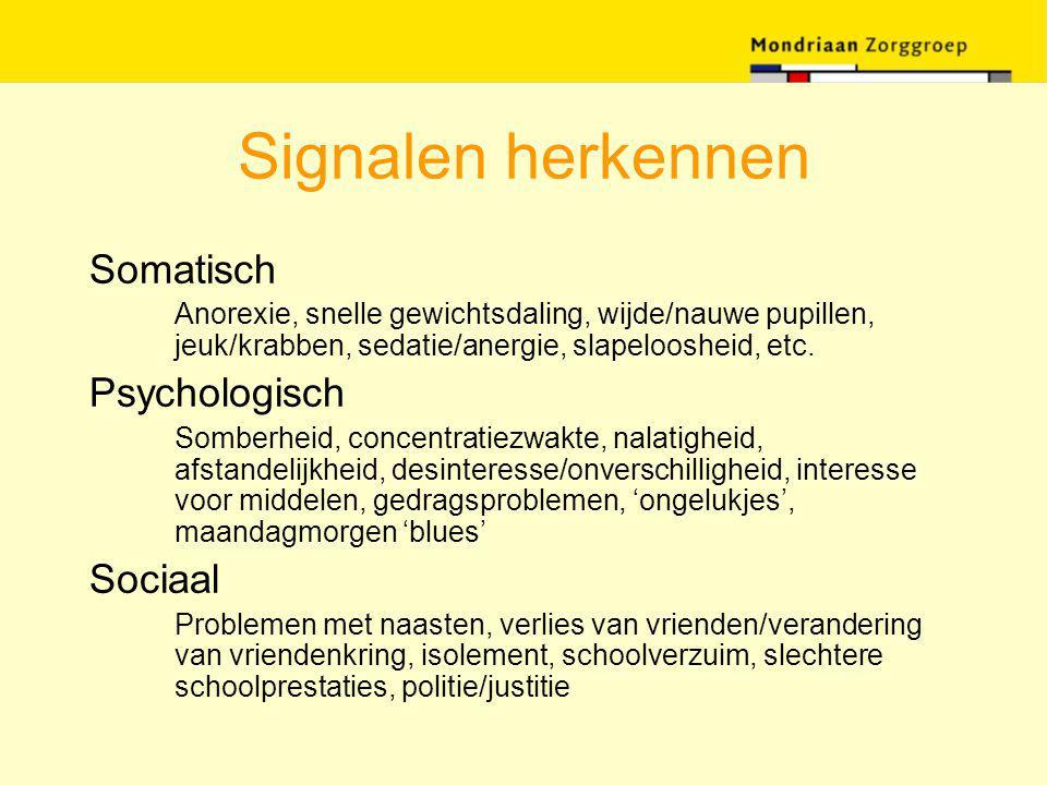 Signalen herkennen Somatisch Psychologisch Sociaal