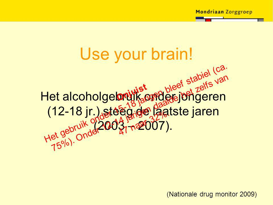 (Nationale drug monitor 2009)