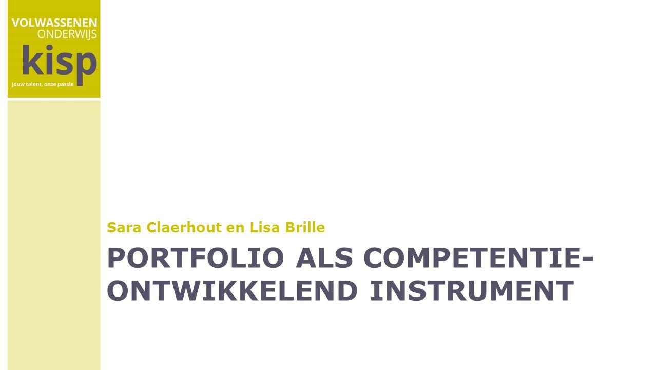 portfolio als competentie-ontwikkelend instrument
