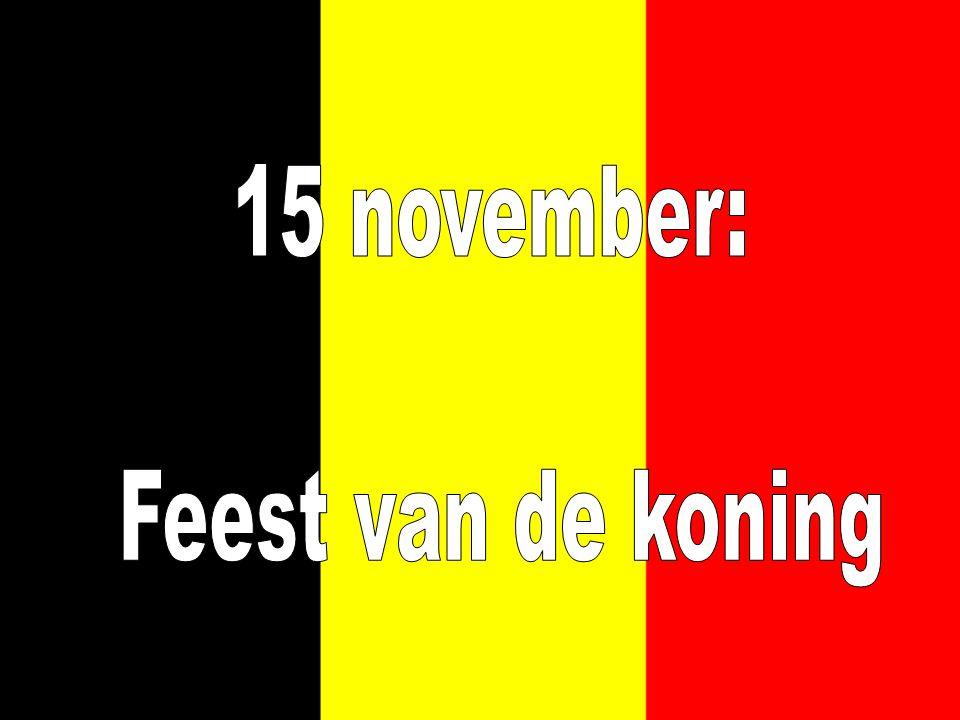 15 november: Feest van de koning