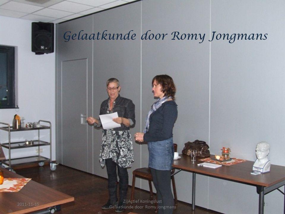 ZijActief Koningslust Gelaatkunde door Romy Jongmans