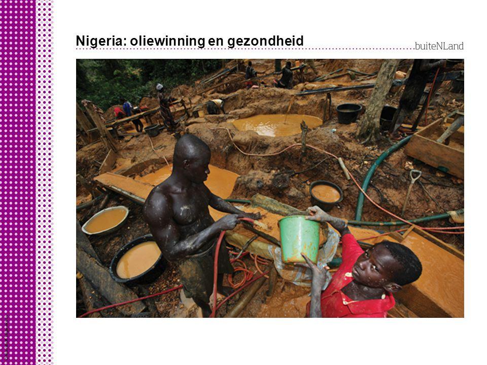 Nigeria: oliewinning en gezondheid