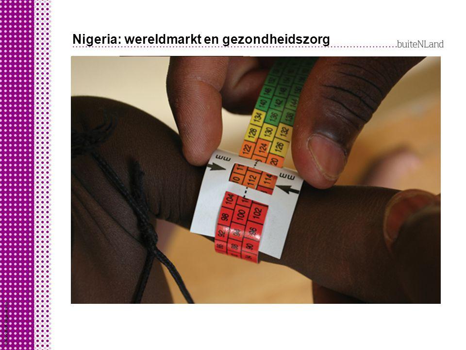 Nigeria: wereldmarkt en gezondheidszorg