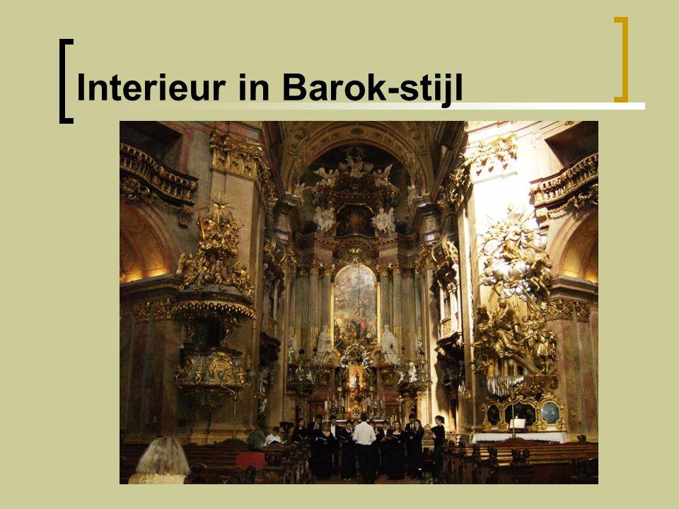 Interieur in Barok-stijl