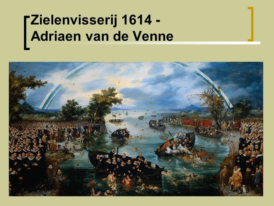 Zielenvisserij 1614 - Adriaen van de Venne