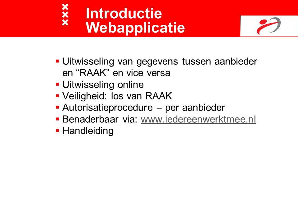 Introductie Webapplicatie