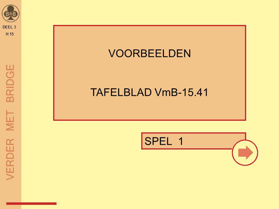 DEEL 3 H 15 VOORBEELDEN TAFELBLAD VmB-15.41 SPEL 1 17