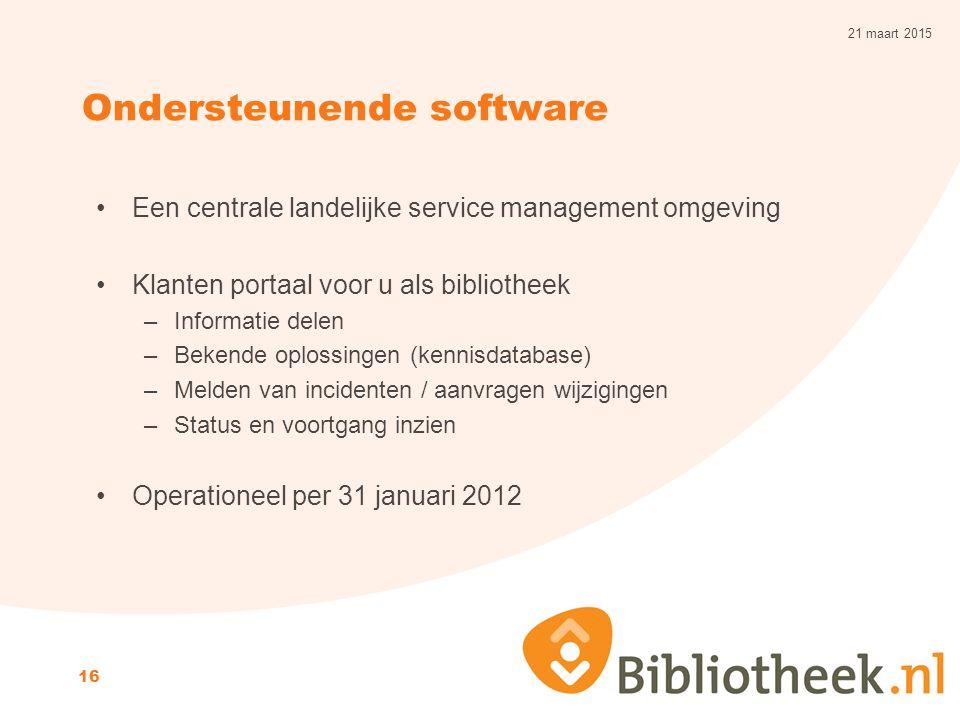 Ondersteunende software
