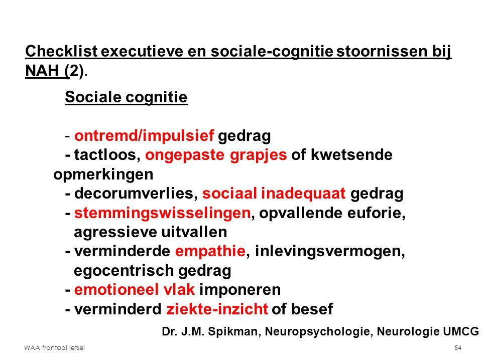 Checklist executieve en sociale-cognitie stoornissen bij NAH (2).