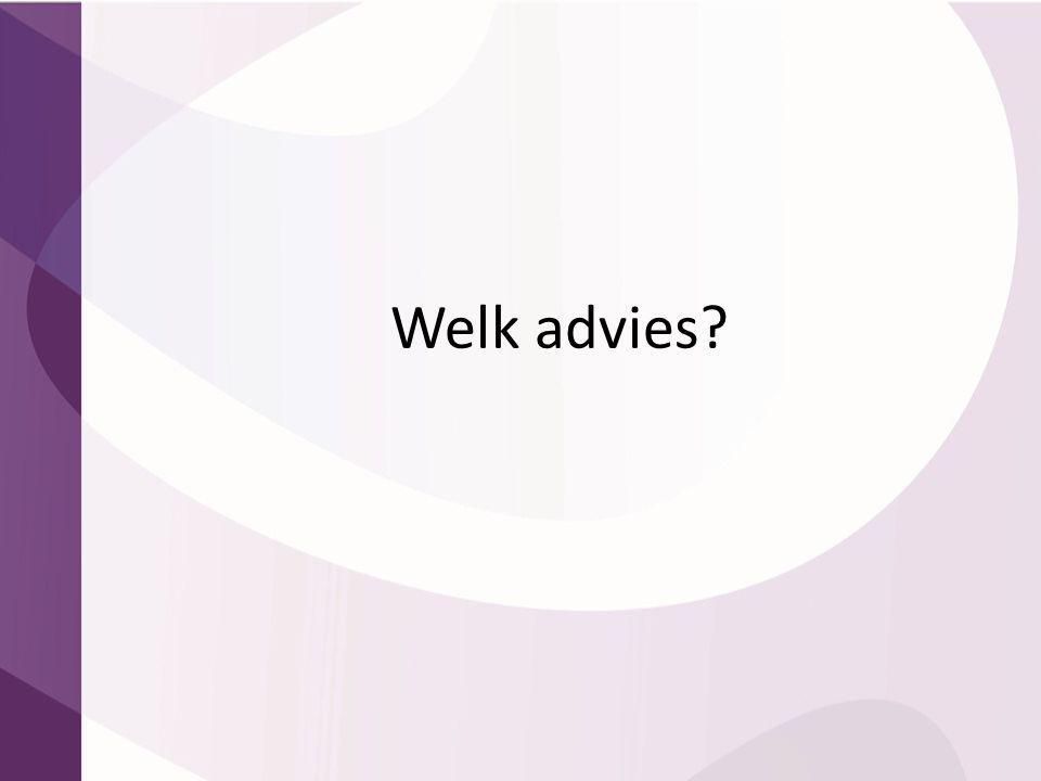 Welk advies