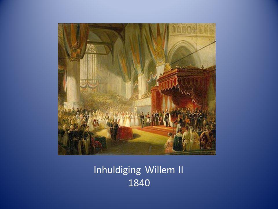 Inhuldiging Willem II 1840