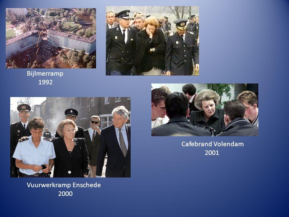 Bijlmerramp 1992 Cafebrand Volendam 2001 Vuurwerkramp Enschede 2000