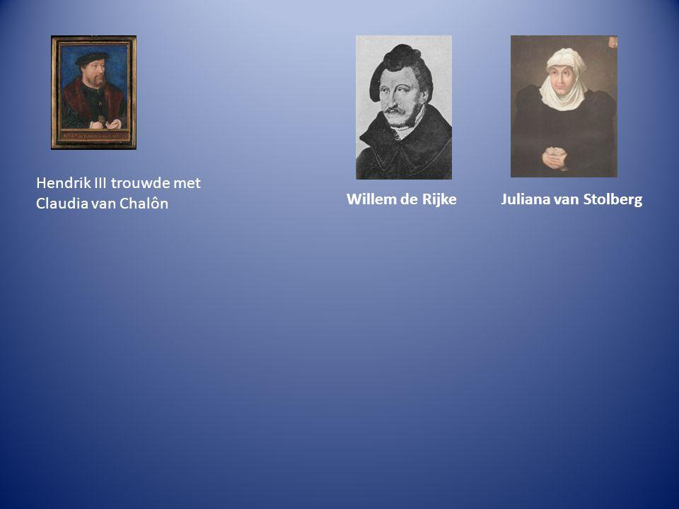 Hendrik III trouwde met