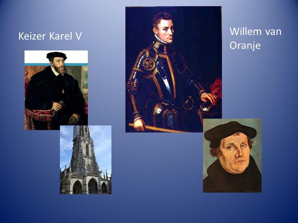 Willem van Oranje Keizer Karel V