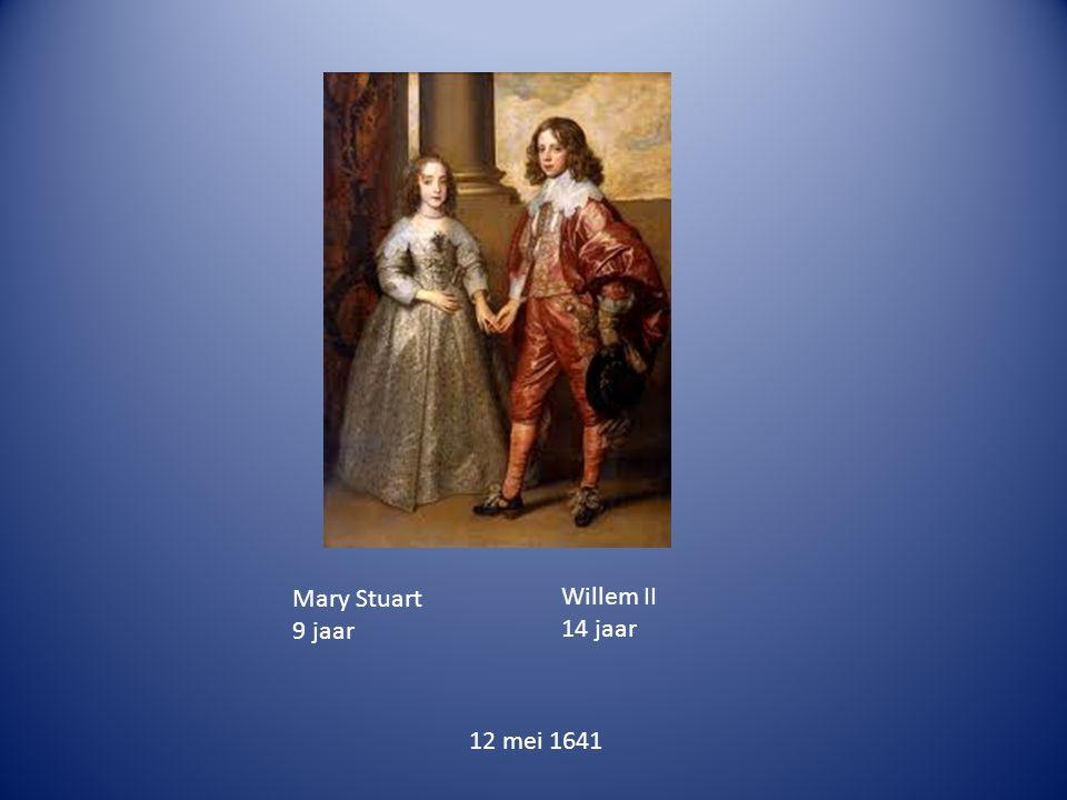 Willem II 14 jaar Mary Stuart 9 jaar 12 mei 1641