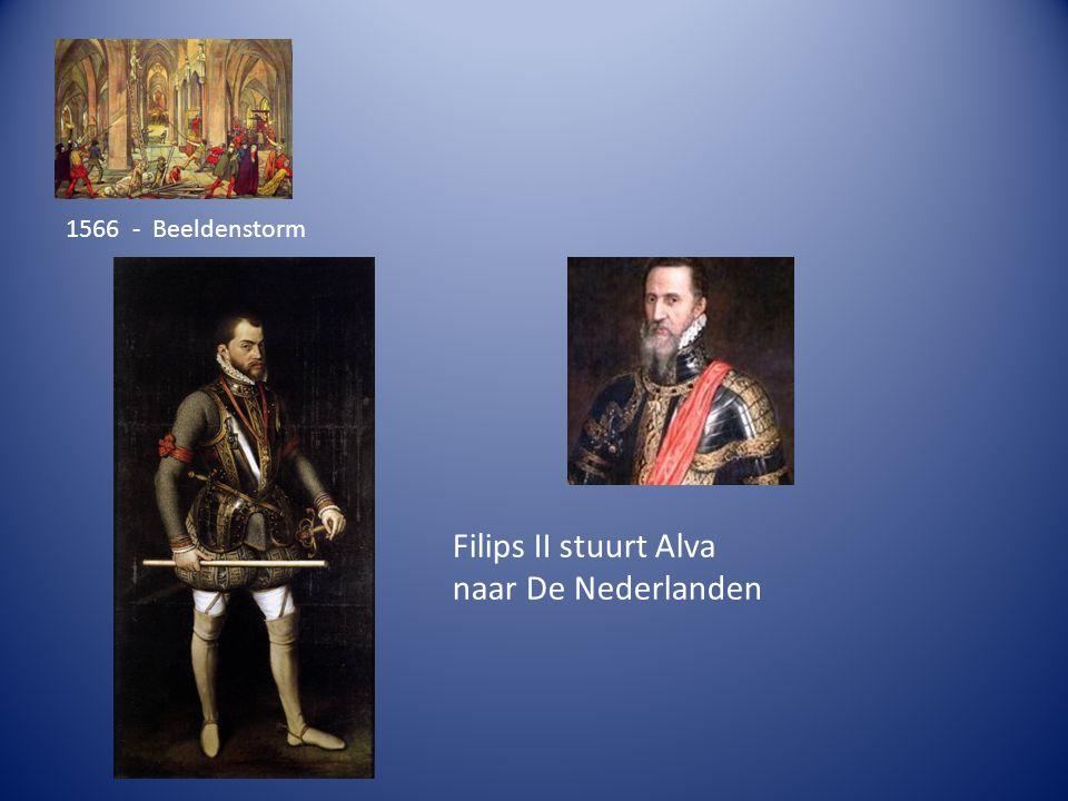 1566 - Beeldenstorm Filips II stuurt Alva naar De Nederlanden