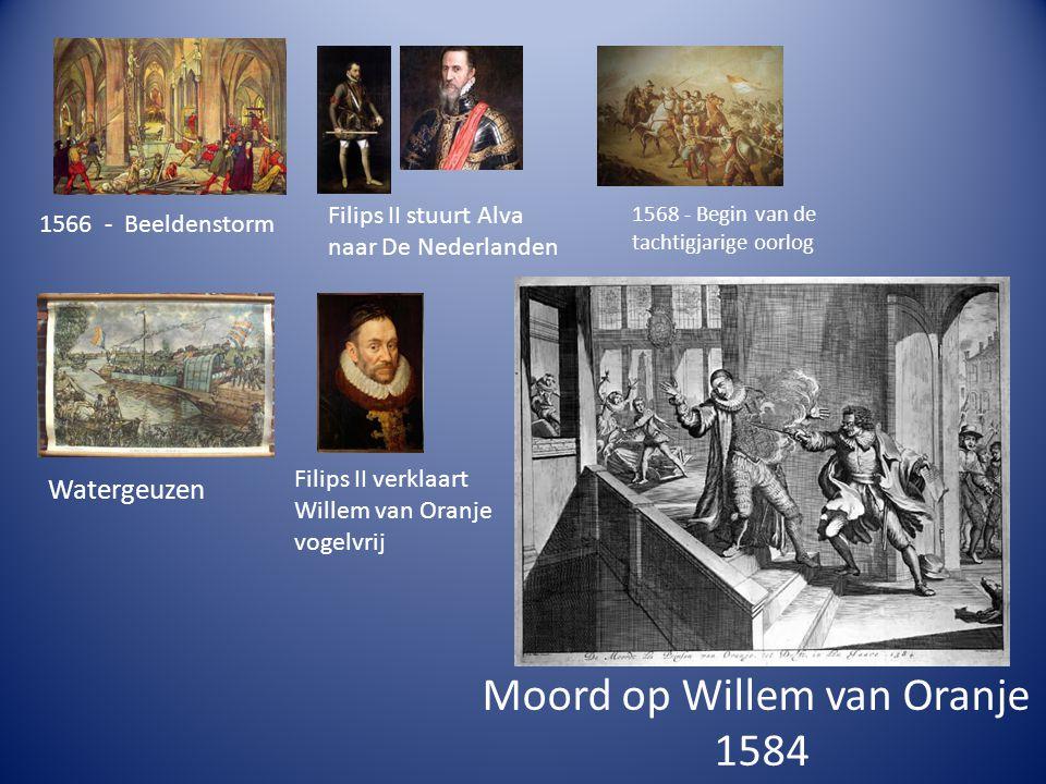 Moord op Willem van Oranje 1584