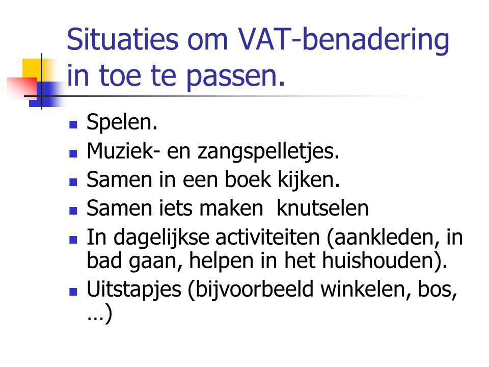 Situaties om VAT-benadering in toe te passen.