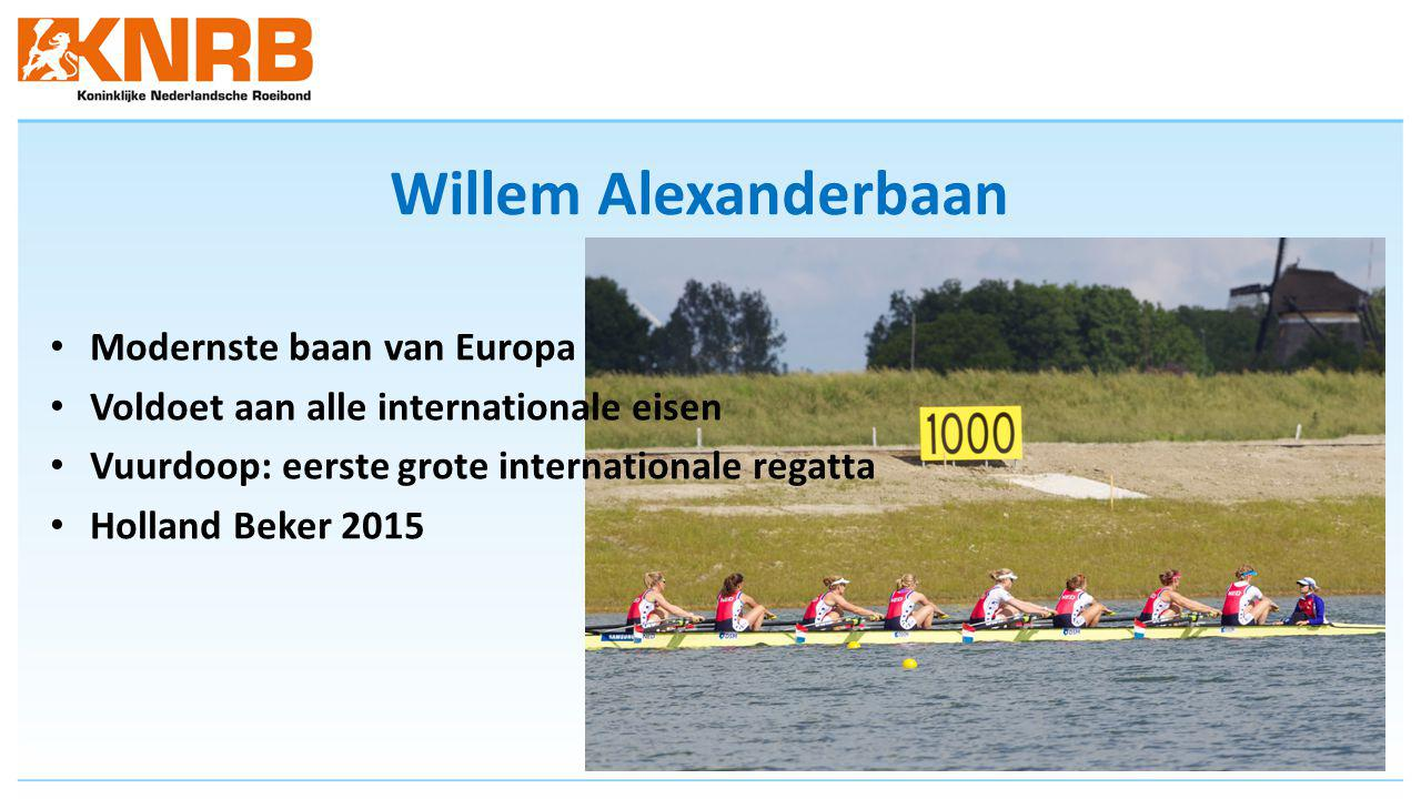 Willem Alexanderbaan Modernste baan van Europa