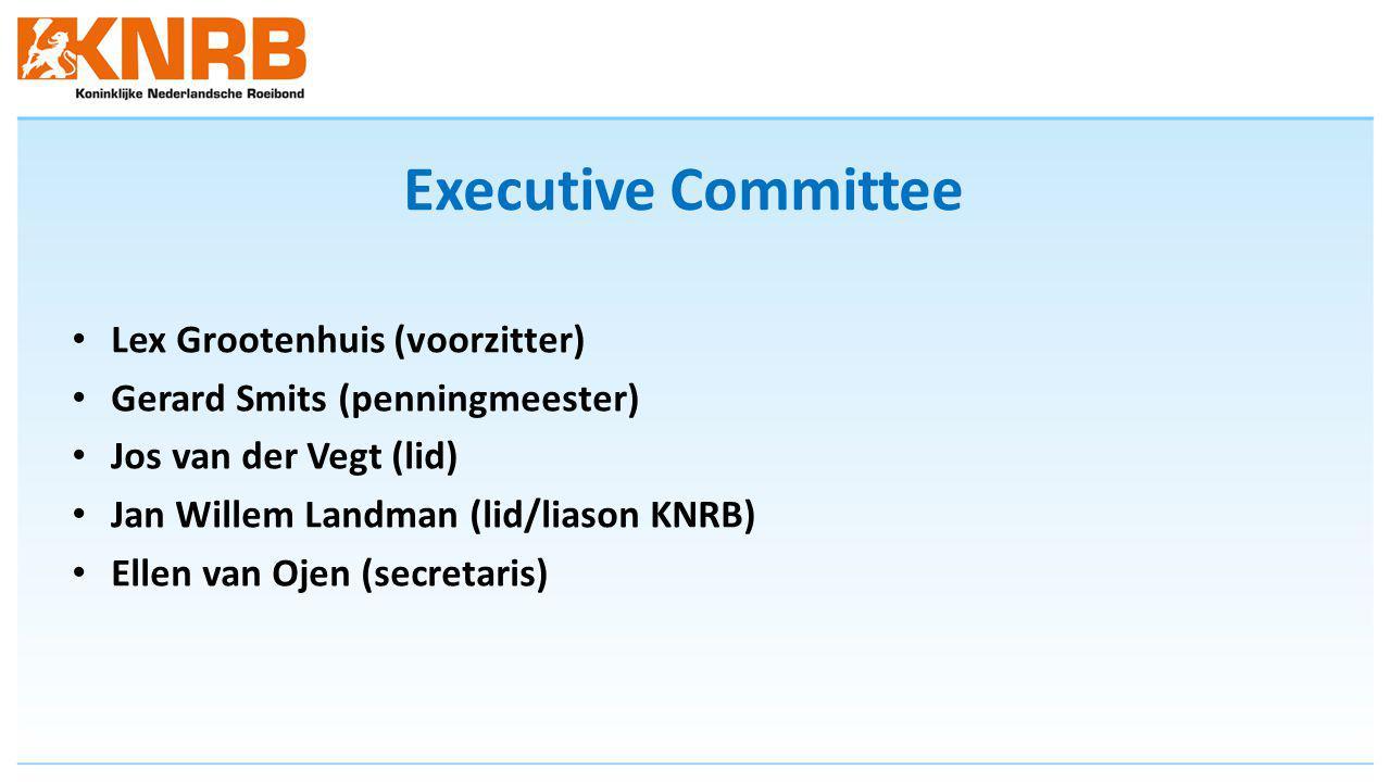 Executive Committee Lex Grootenhuis (voorzitter)