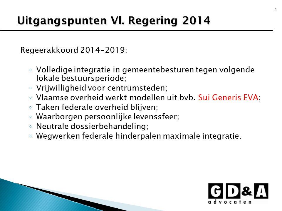 Uitgangspunten Vl. Regering 2014