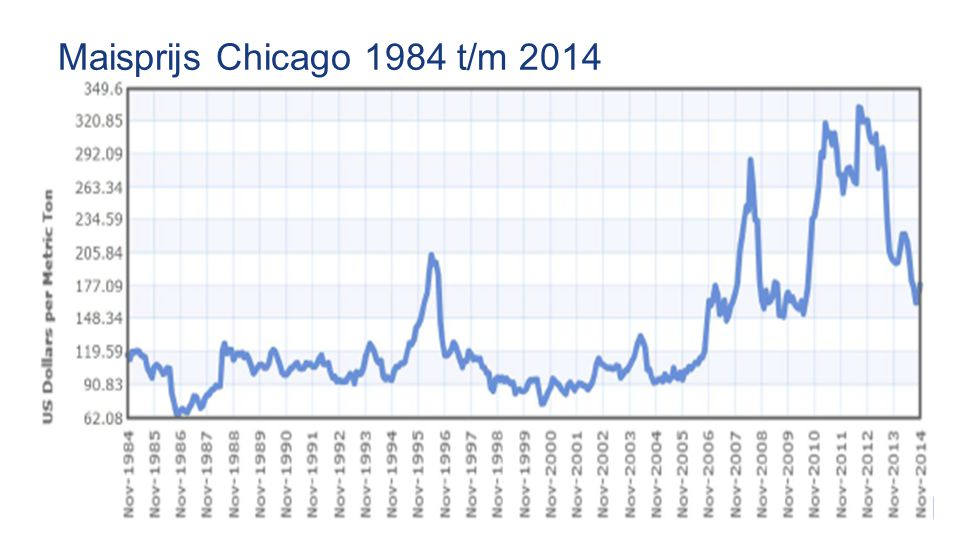 Maisprijs Chicago 1984 t/m 2014