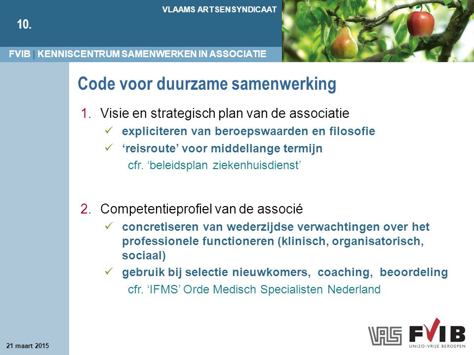 Code voor duurzame samenwerking