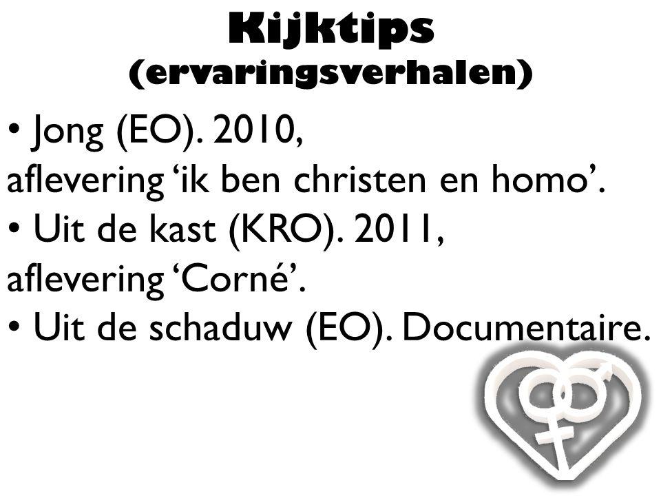 Jong (EO). 2010, aflevering 'ik ben christen en homo'.