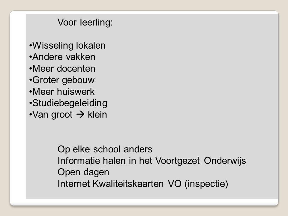 Informatie halen in het Voortgezet Onderwijs Open dagen