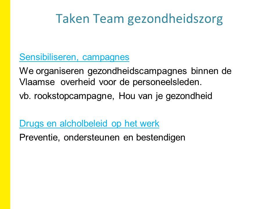 Taken Team gezondheidszorg