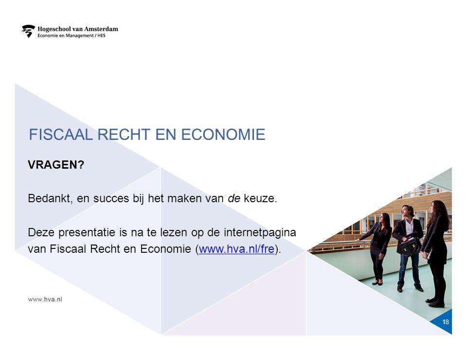 Fiscaal recht en economie