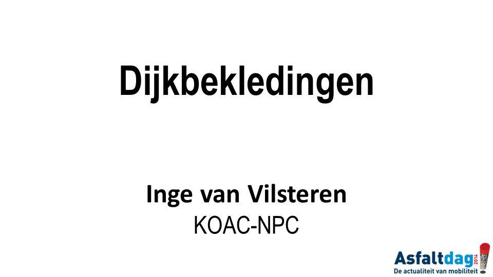 Dijkbekledingen Inge van Vilsteren KOAC-NPC