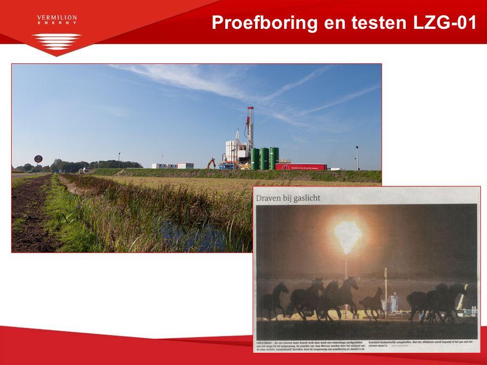 Proefboring en testen LZG-01