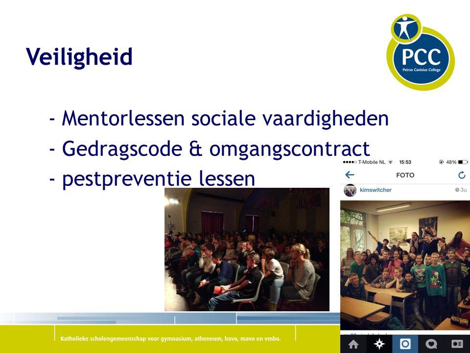 Veiligheid - Mentorlessen sociale vaardigheden