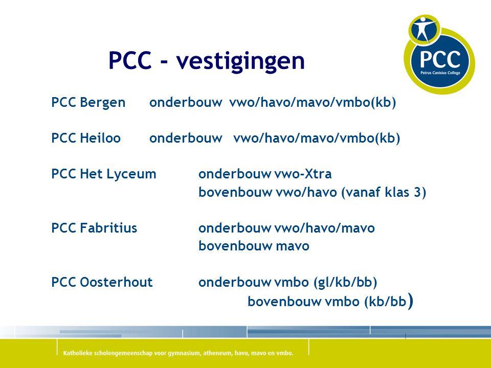 PCC - vestigingen PCC Bergen onderbouw vwo/havo/mavo/vmbo(kb)