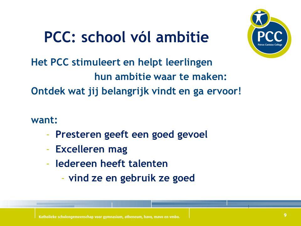 PCC: school vól ambitie