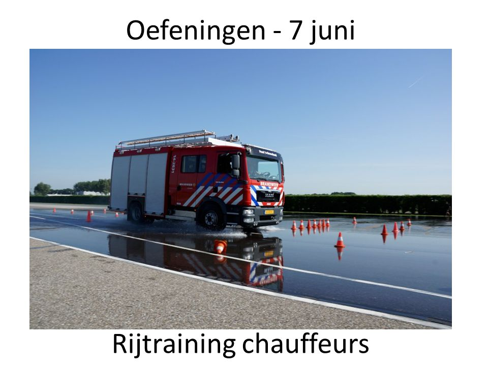 Rijtraining chauffeurs