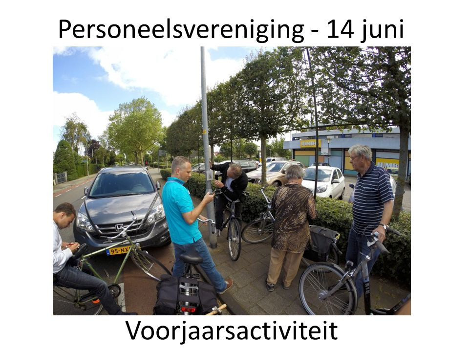 Personeelsvereniging - 14 juni