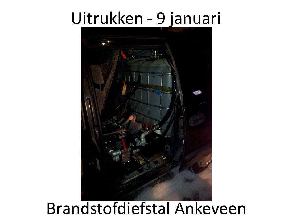 Brandstofdiefstal Ankeveen