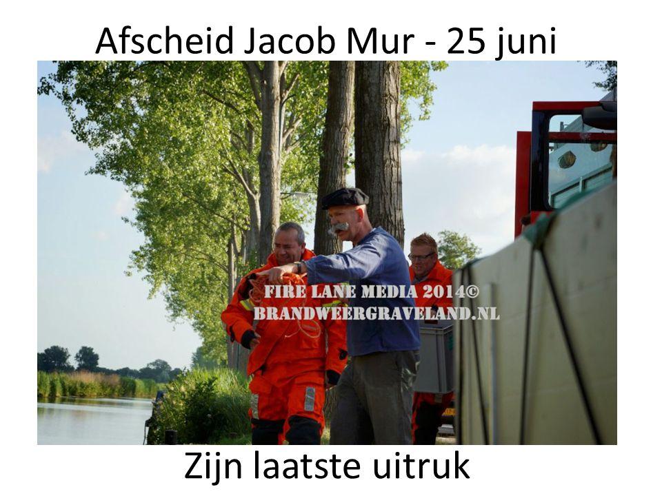 Afscheid Jacob Mur - 25 juni
