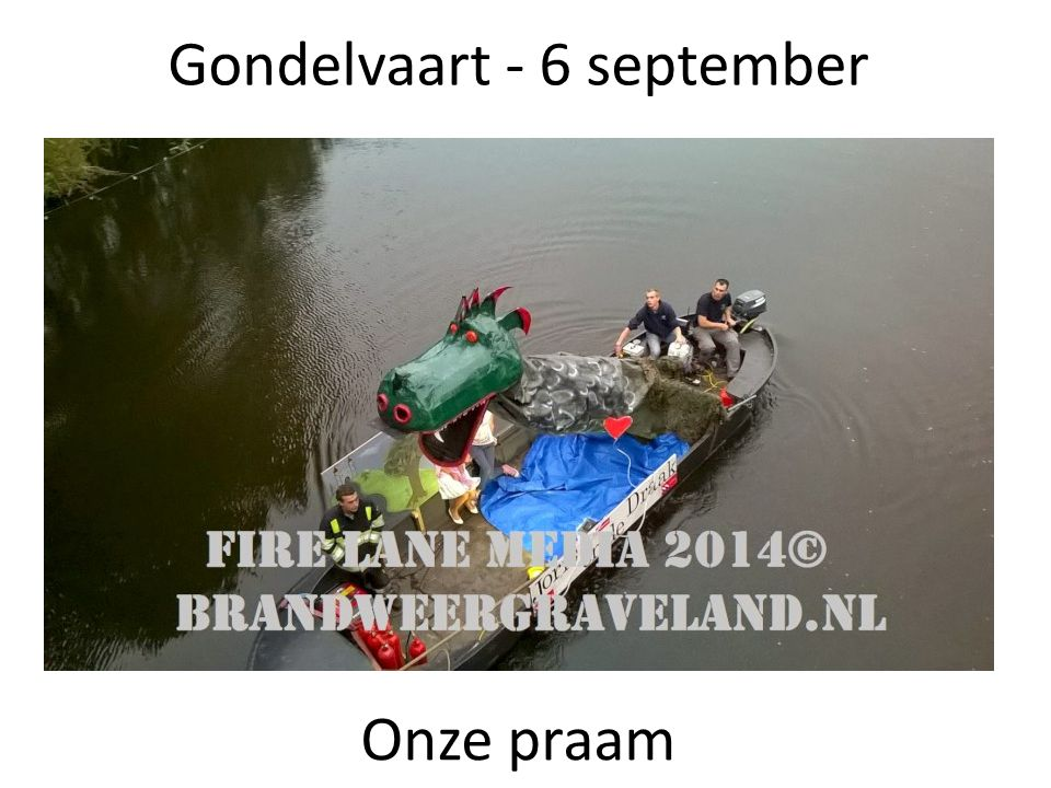 Gondelvaart - 6 september