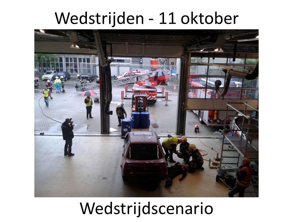 Wedstrijden - 11 oktober Wedstrijdscenario