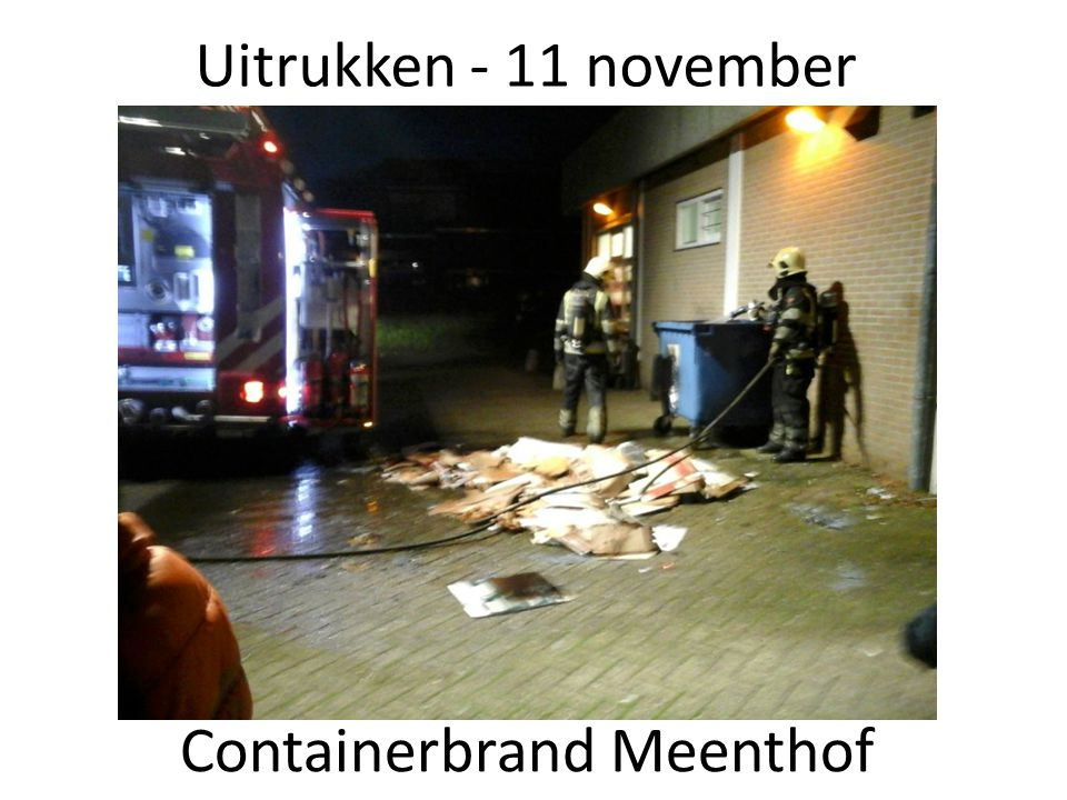 Containerbrand Meenthof