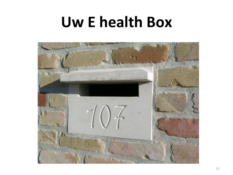 Uw E health Box