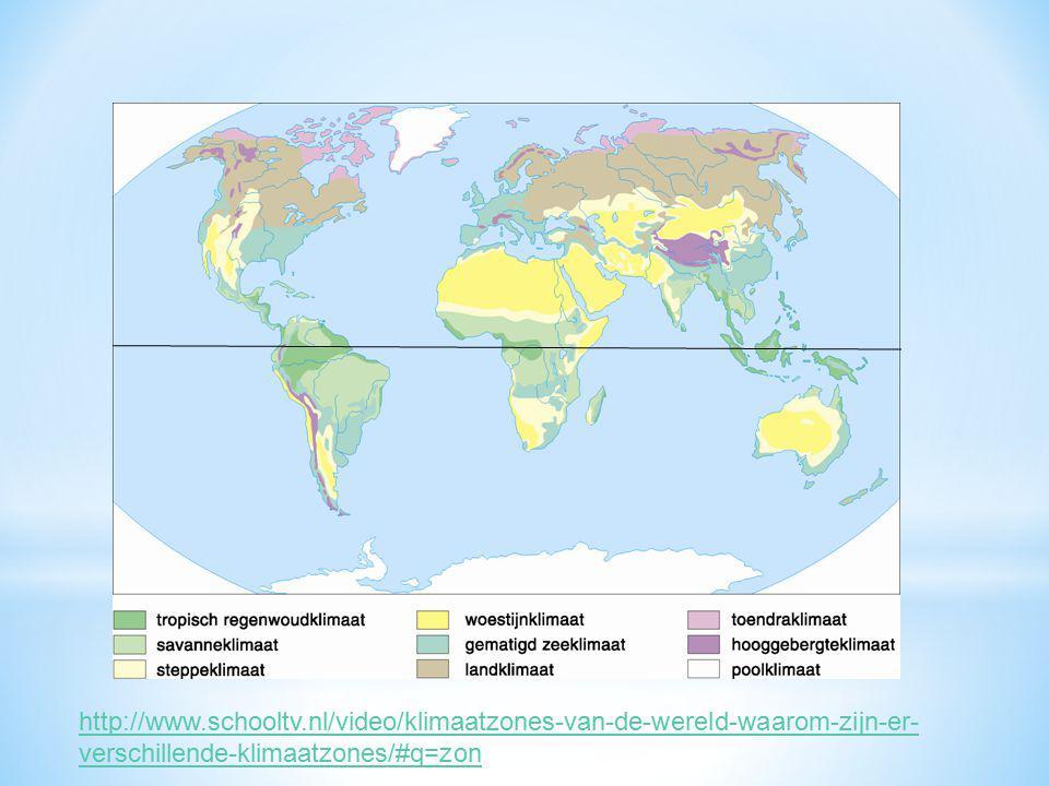 http://www.schooltv.nl/video/klimaatzones-van-de-wereld-waarom-zijn-er-verschillende-klimaatzones/#q=zon