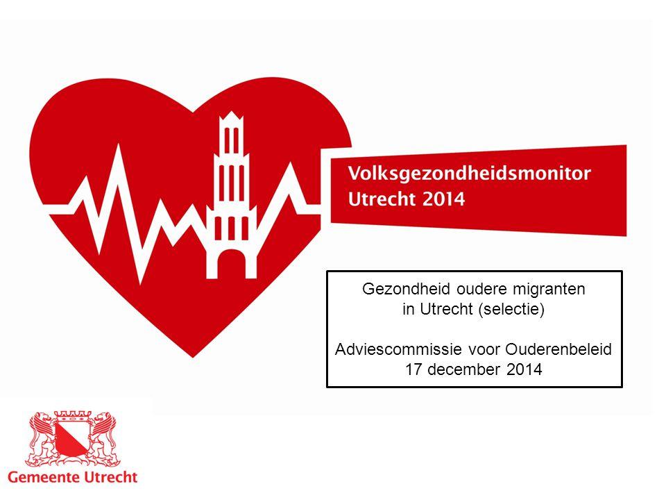 Gezondheid oudere migranten in Utrecht (selectie)
